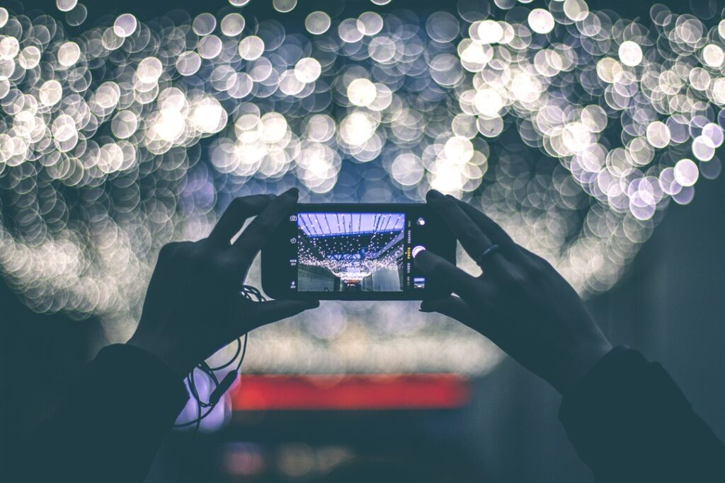 Create content using your mobile phone